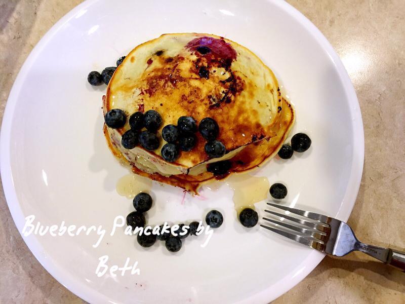 蓝莓松饼 - 早餐