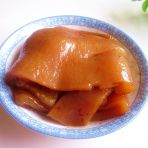 老汤卤猪皮的做法