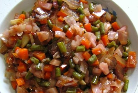 腊肉炒泡菜