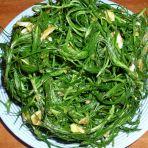 凉拌蓬蓬菜的做法
