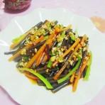 凉拌野生厥菜的做法