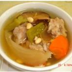 凉瓜排骨汤的做法