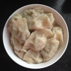 莲花白猪肉饺子