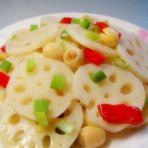 莲子炒莲藕片
