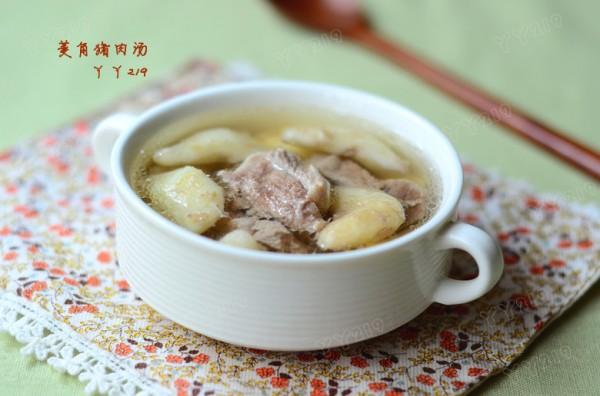 菱角猪肉汤