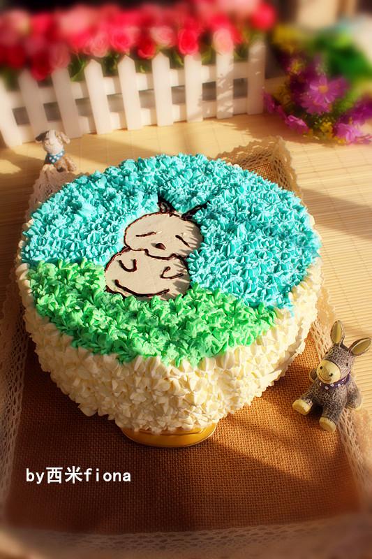 流氓兔奶油蛋糕
