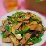 龙井豆干炒肉