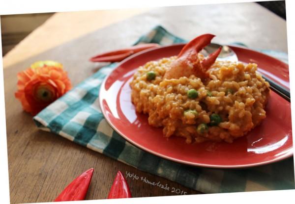 龙虾烩饭的做法