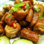 卤炒猪大肠的做法