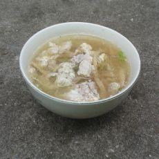 萝卜干鸡蛋瘦肉汤