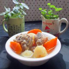 萝卜马蹄排骨汤