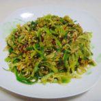萝卜丝炒虾酱