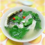 罗非鱼枸杞叶汤