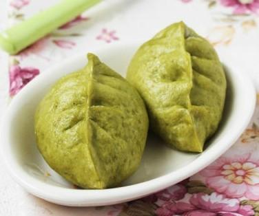 绿茶煎饺的做法