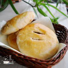 绿豆肉松酥饼
