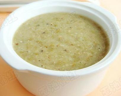 绿豆薏仁粥的做法