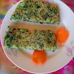 绿叶菜煎饼