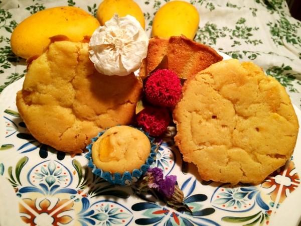 芒果糯米蛋糕