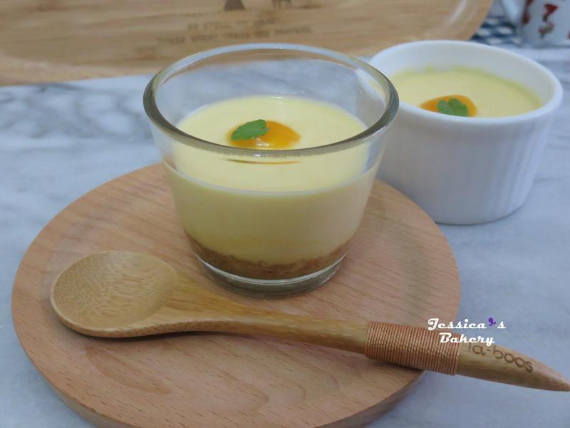 芒果乳酪蛋糕 (免烤、冷藏作法)