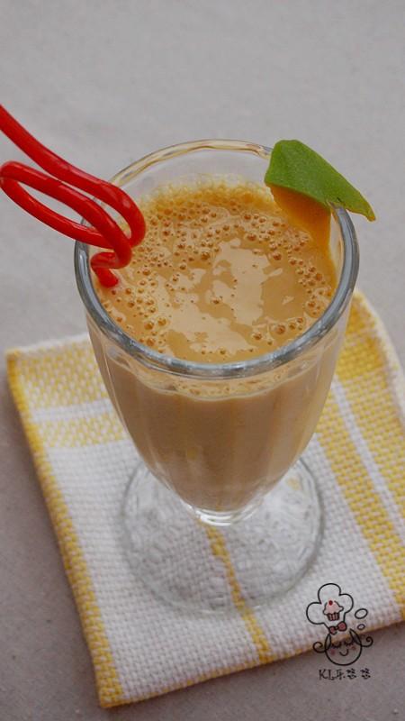芒果酸奶饮的做法