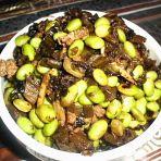 毛豆酸菜的做法