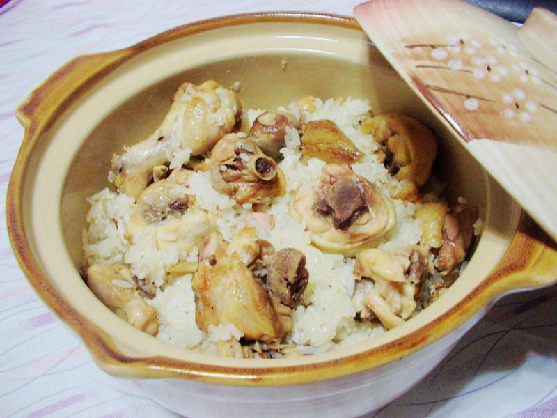麻油鸡糯米饭