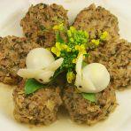 梅菜干蒸肉饼