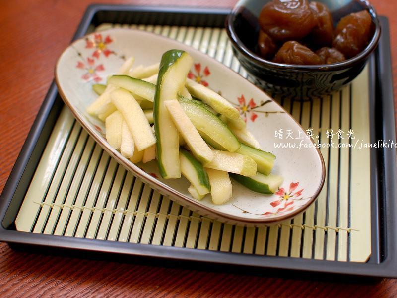 梅醋凉拌水果小黄瓜