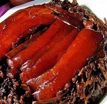梅干菜蒸扣肉