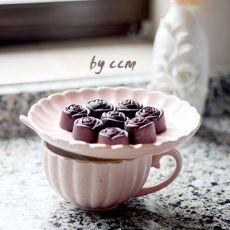 玫瑰巧克力糖果的做法