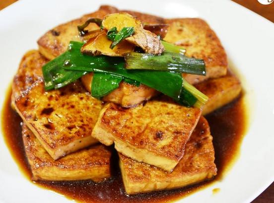 美味酱烧豆腐