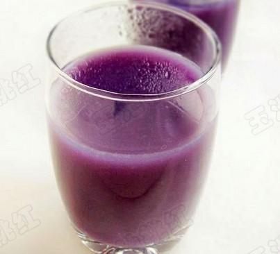 美味紫薯银耳羹
