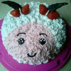 美羊羊蛋糕