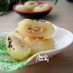 蜜橙花芝土豆饼