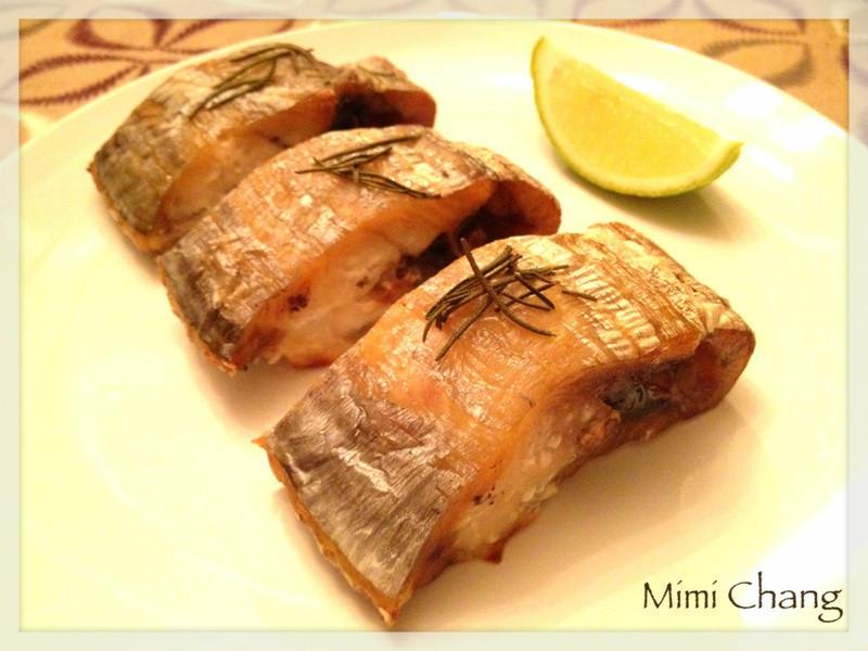 迷迭香烤白带鱼