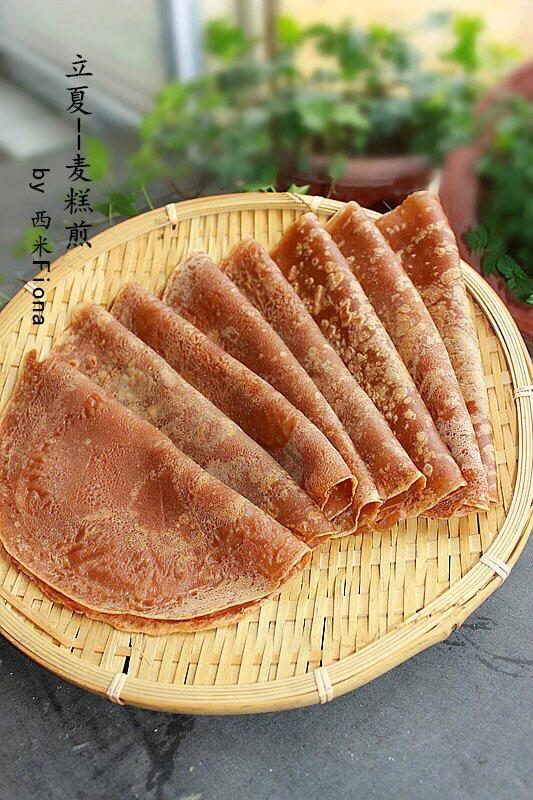 闽南麦糕煎的做法