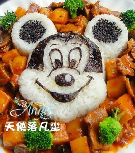 米奇红烩牛肉饭的做法