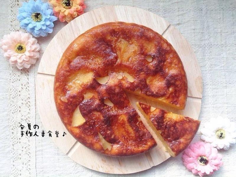 蜜香苹果蛋糕
