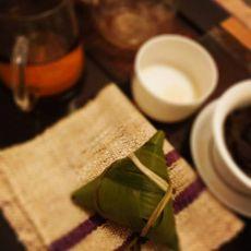 蜜枣无谷和腊肠粽子