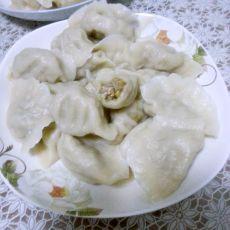 蘑菇猪肉饺子