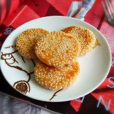 奶香桂花饼