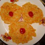 奶香胡萝卜饼