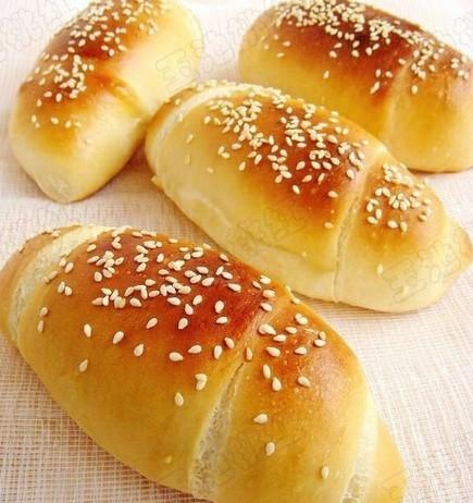 奶香面包的做法