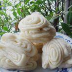 奶香咸花卷的做法