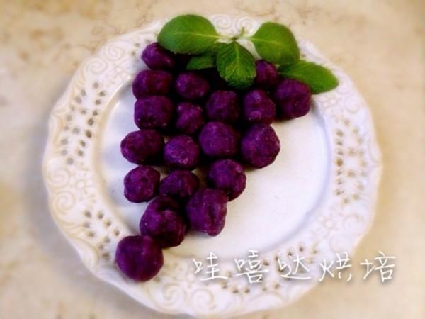 奶香紫薯球