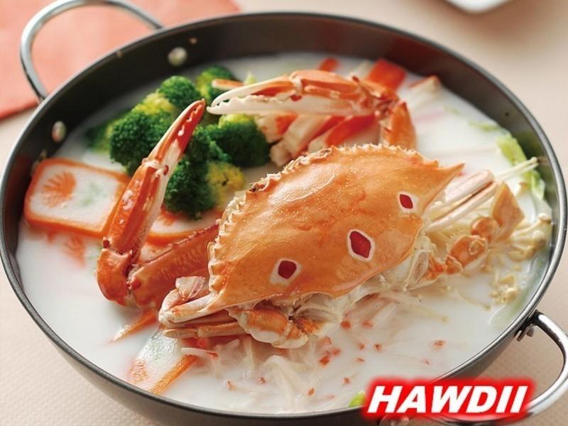 奶香螃蟹锅