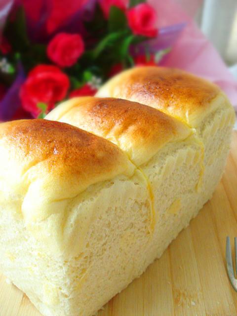 奶油白土司的做法