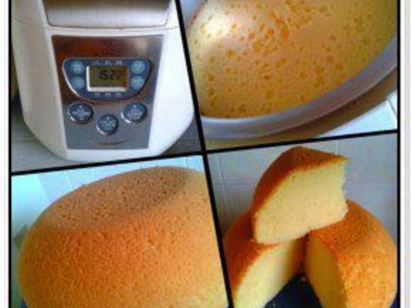 奶油蛋糕 (电子锅料理)