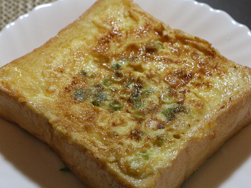 奶油香葱蛋吐司的做法