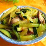 南瓜炒香菇